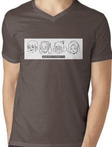 MMMxOW Mens V-Neck T-Shirt