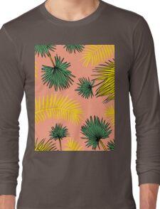 Tumblr Tropical Pattern Long Sleeve T-Shirt