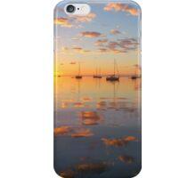 pink & blue sunrise iPhone Case/Skin
