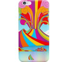 Naples and Vesuvio Rainbow Eruption iPhone Case/Skin