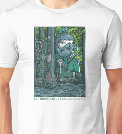 The Mountain Goats with The Beets in Denver tour tee Unisex T-Shirt