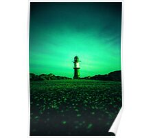 GREEN LIGHTHOUSE Poster