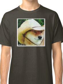 What In Tarnation - Doge Meme Classic T-Shirt