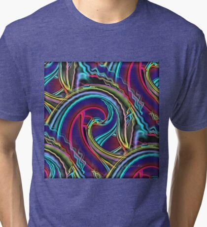Looking for a haystack through the eye of a Needle Tri-blend T-Shirt
