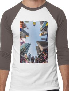 Times Square Men's Baseball ¾ T-Shirt