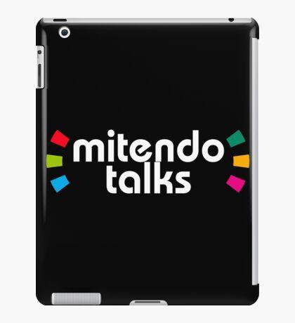 Mitendo Talks - Amiibo Style (White) iPad Case/Skin