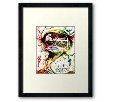 Too Weird to Live, Too Rare to Die by Skillmatik Framed Print
