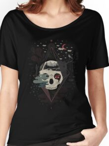 Happy Riddle T-shirt femme coupe relax