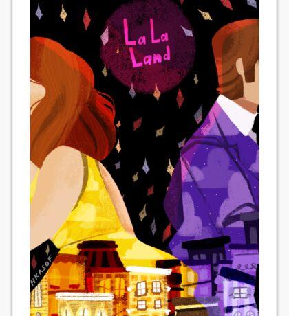 La La Land 2  Sticker