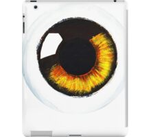 Orange Eye iPad Case/Skin