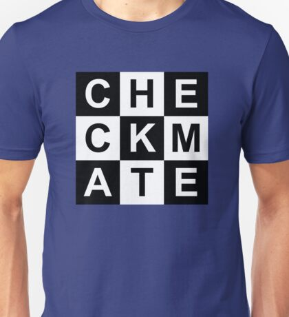 Checkmate Chessboard Unisex T-Shirt
