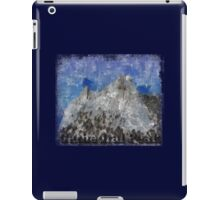 Rock Climbing Cathedral Peak Abstract iPad Case/Skin