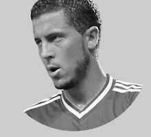 Eden Hazard by Kcaveye