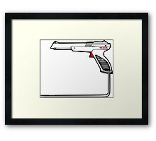 Strapped Framed Print