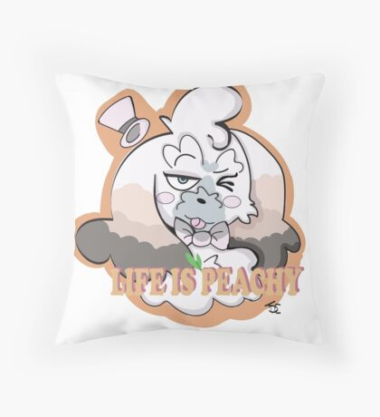 Life is Peachy - Peche OC Throw Pillow
