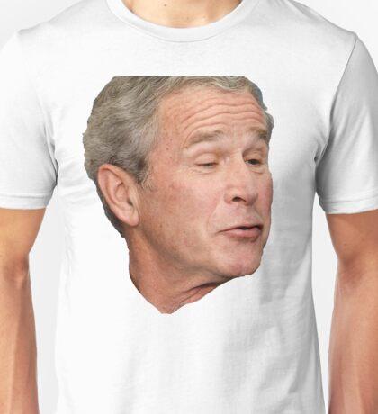 George W. Bush Face Unisex T-Shirt