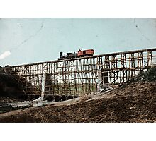Potomac Creek Bridge Photographic Print