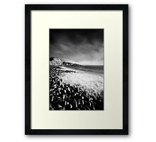 Spring Swell (Mono) Framed Print