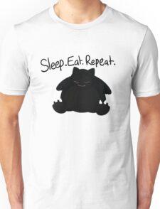 Eat. Sleep. Repeat. Unisex T-Shirt