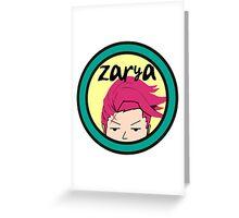 Zarya on Music TV Greeting Card