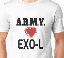 ARMY Loves EXO-L Unisex T-Shirt