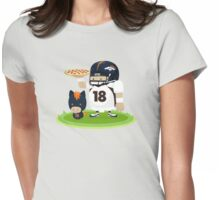 Peyton and his Bronco Womens Fitted T-Shirt