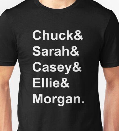 Chuck Characters Unisex T-Shirt