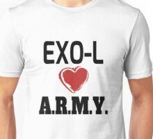 EXO-L Loves ARMY Unisex T-Shirt