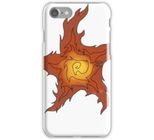 The Burning Sign iPhone Case/Skin