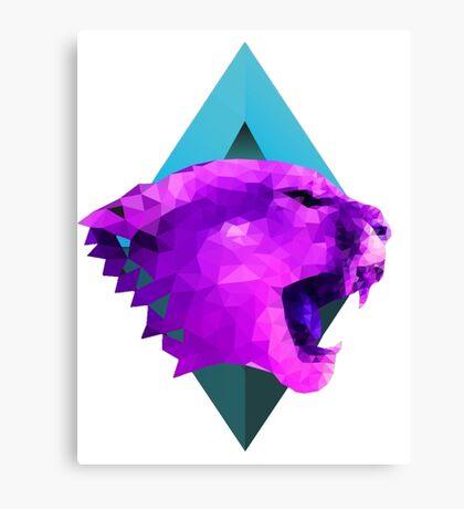 Purple Pantera The Beast Canvas Print