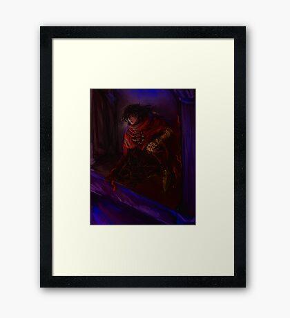 Vincent Valentine Framed Print