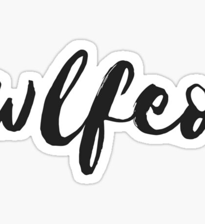 wlfeo Sticker