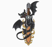 Toothless & Sword Tat Kids Clothes