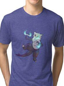 alolan marowak Tri-blend T-Shirt