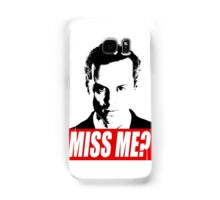 Miss Me? - Jim Moriarty - Sherlock Samsung Galaxy Case/Skin