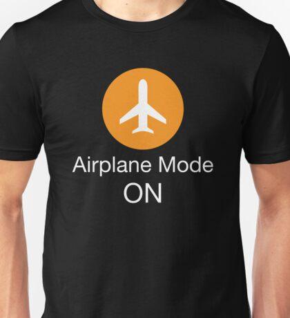 Airplane Mode ON Unisex T-Shirt