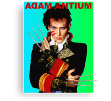 Adam Antium Canvas Print