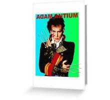 Adam Antium Greeting Card