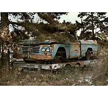 Abandoned Dodge Sweptline Pickup Photographic Print