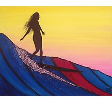 The Glide Girl Waltz Photographic Print