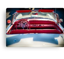 Classic Ford Thunderbird convertible Canvas Print