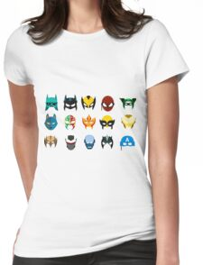 Masks Womens Fitted T-Shirt