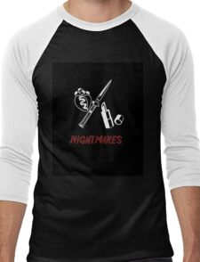 Nightmares... Men's Baseball ¾ T-Shirt