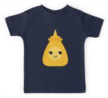 Mustard Sauce Emoji Cheeky and Up to Somethin Kids Tee