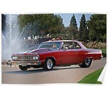 1965 Chevrolet 'Pro Street' Malibu Poster