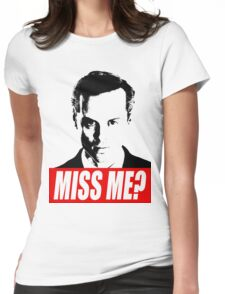Miss Me? - Jim Moriarty - Sherlock Womens Fitted T-Shirt
