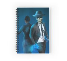 Skulduggery Pleasant (Blue) Spiral Notebook