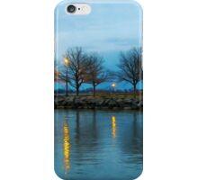 Shoreline Park - Twilight Reflections iPhone Case/Skin