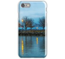 Shoreline Park - Twilight Reflections iPhone Case/Skin