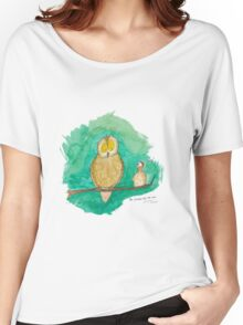 The Chicken And The Owl Women's Relaxed Fit T-Shirt
